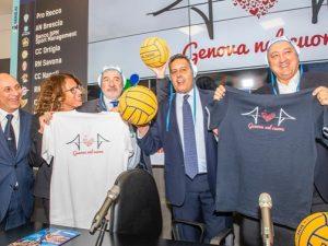 La FIN dedica i campionati 2018/2019 a Genova