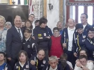 A Tursi una delegazione dello Special Team Genova