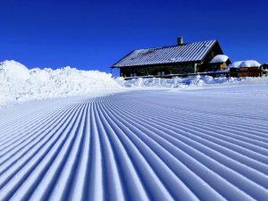Artesina a tutta neve in attesa del Raduno Nazionale delle Mascotte