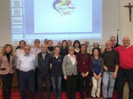I dirigenti della PGS Liguria