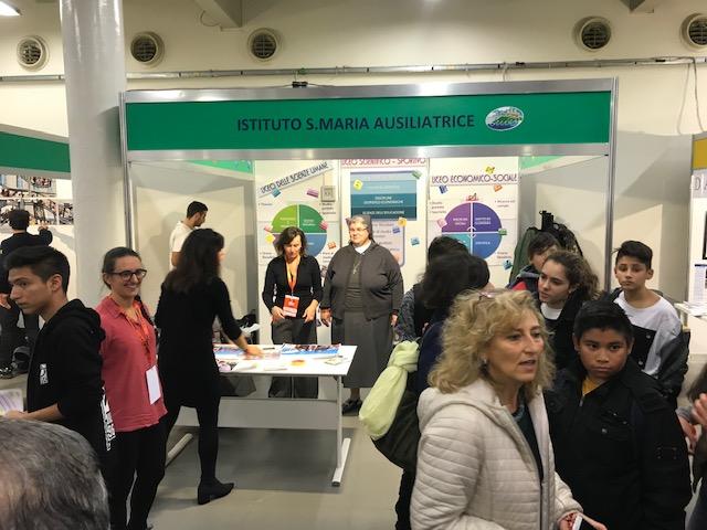Grande successo per il Liceo Scientifico Sportivo a Orientamenti con l'Istituto Maria Ausiliatrice