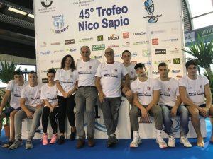 Brilla Spoleto Nuoto al 45° Trofeo Sapio. Finale assoluta per Gianluca Andolfi