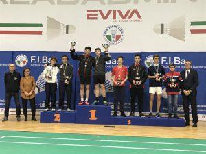 Doppia medaglia per Genova Badminton ai Tricolori giovanili
