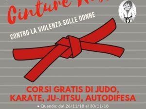 """Al via progetto """"Cinture rosse contro la violenza sulle donne"""""""