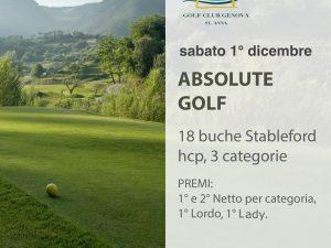 """Sabato """"Absolute Golf"""" a Lerca"""