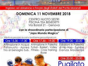 """""""SportInsieme"""": una speciale iniziativa benefica per gli sfollati"""
