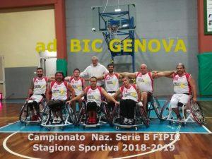 Bic Genova sconfitto da Brescia
