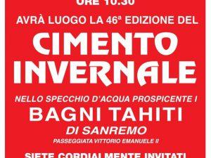 Martedì 1 gennaio il cimento invernale della Canottieri Sanremo