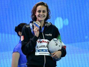 Fantastico bronzo per Martina Carraro ai Mondiali in vasca corta
