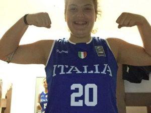 Matilde Pini convocata con la Nazionale Under 15