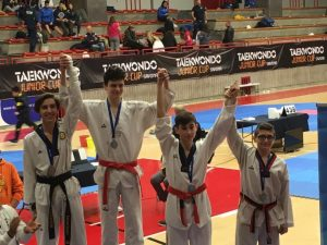 Lanterna Taekwondo diciotto volte sul podio a Quiliano