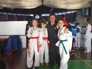 Lanterna Taekwondo in grande forma anche a Busto Arsizio
