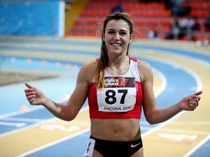 Luminosa Bogliolo campionessa italiana indoor