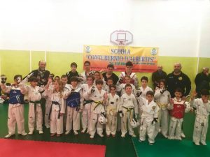 Lanterna Taekwondo abbraccia la Contubernio d'Albertis (VIDEO)