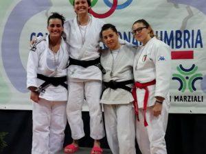 Pro Recco Judo tre volte sul podio a Perugia