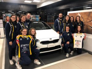 Kia Autoaurelia e Olympia Volley: la nuova Proceed si tinge di gialloblu'