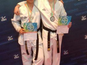 Tre medaglie per la Lanterna Taekwondo ai Tricolori Cadetti