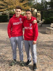 Mirco Cilia a sinistra e Francesco Zambarino