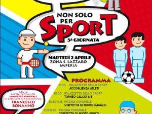 """A Imperia """"non solo per sport"""""""