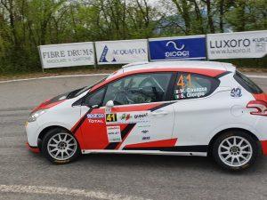Lanterna Corse Rally Team: ottimo Casazza a Reggio Emilia