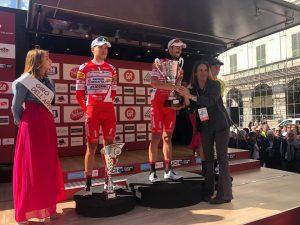 Mattia Cattaneo vince l'80° Giro dell'Appennino