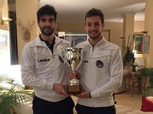 Coppa delle Nazioni: bronzo per i sarzanese Corona e Borsi