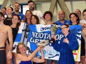 Nuoto Master, anche la Nuotatori Genovesi tra i Campioni d'Italia