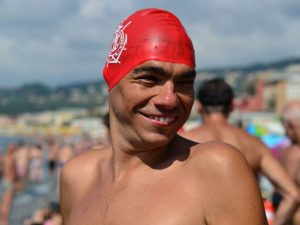 Marco Basso e l'amore per il Nuoto special con Eunike (VIDEO)