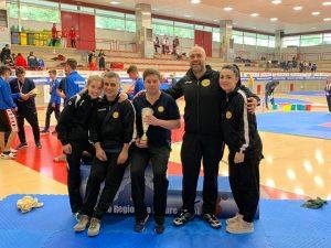 Lanterna Taekwondo terza società agli Interregionali Liguria