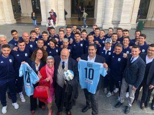 La Regione Liguria celebra la promozione in B dell'Entella