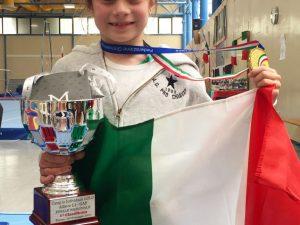 Alessia Marena della Pro Chiavari è campionessa d'Italia