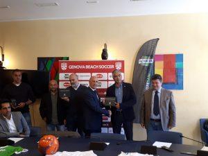 Genova Beach Soccer sulla rampa di lancio del campionato di serie A (VIDEO)