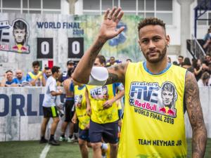 Arriva a Genova il Red Bull Neymar Jr's Five