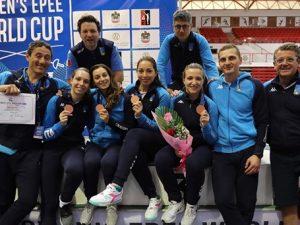 Mara Navarria bronzo a Dubai con la squadra azzurra