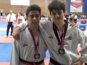 Lanterna Taekwondo 10 volte sul podio a Riccione