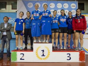Valentina Roncallo tre volte sul podio ai Tricolori