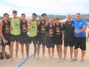 Trionfo della Liguria Beach Handball allo Challange Région sud