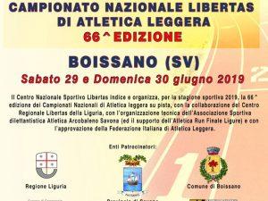 A Boissano la 66a edizione dei Campionati Nazionali Libertas