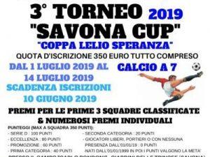 La 3° Savona Cup Libertas 2019 sulla rampa di lancio