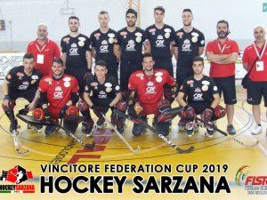 Sarzana alza la Federation Cup a Correggio
