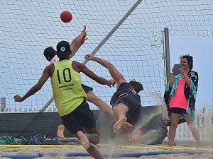 Liguria Beach Handball in corsa per la vittoria nello Challange Région