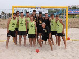 Eccellente fine settimana per la squadra della Liguria Beach Handball