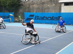 Sabato al CUS Genova l'open day di Tennis in Carrozzina