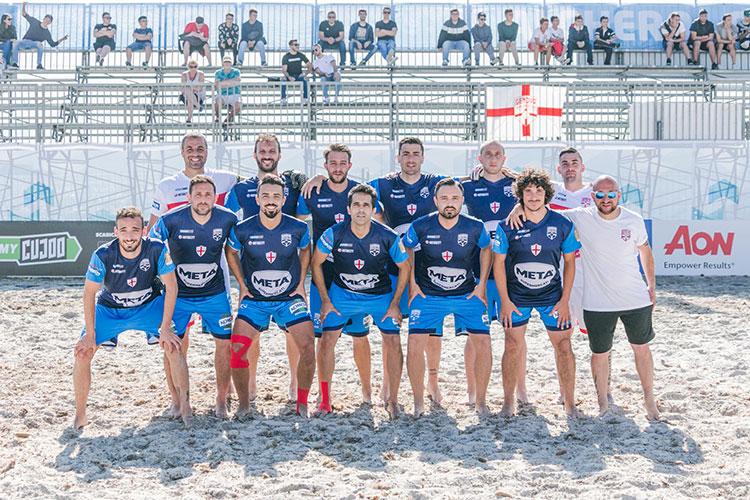 Superba Genova Beach Soccer: 4°posto finale in serie A