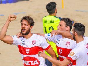 Genova Beach Soccer salvo con 3 turni d'anticipo