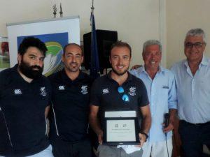 FIR Liguria premia la Pro Recco Rugby
