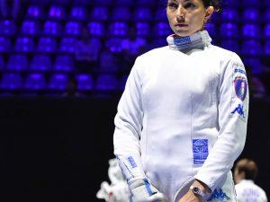 Mara Navarria terza ai Mondiali di Budapest nella prova a squadre