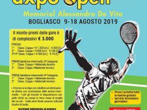 A Bogliasco dal 9 agosto l'Axpo Open-Memorial De Vita