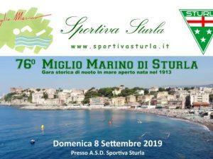 76° Miglio Marino di Sturla: il programma