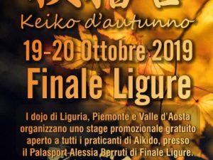 Keiko d'autunno a Finale Ligure